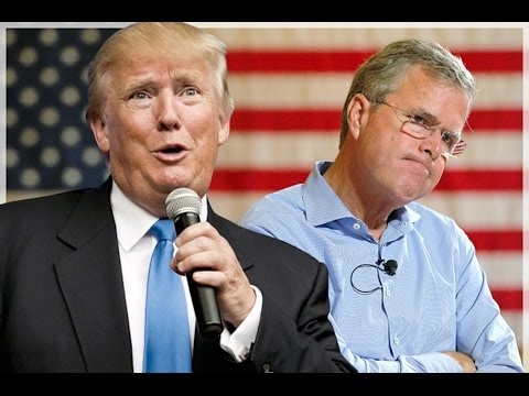 Trump And Jeb Bush Squabble Over Who Loves Hillary More