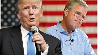 Trump And Jeb Bush Squabble Over Who Loves Hillary More