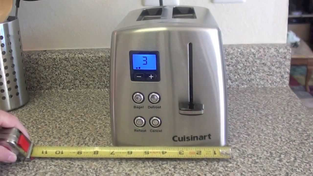 Cuisinart Countdown Classic 2 Slice Toaster review
