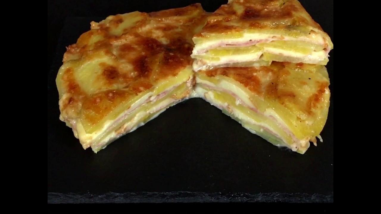 Parmigiana bianca di patate. - YouTube