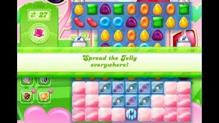 Candy Crush Jelly Saga Level 1256 (No boosters)
