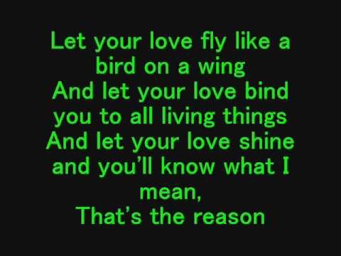 Let Your Love Flow - The Bellamy Brothers (Lyrics)