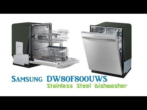 samsung dw80f800uws stainless steel dishwasher