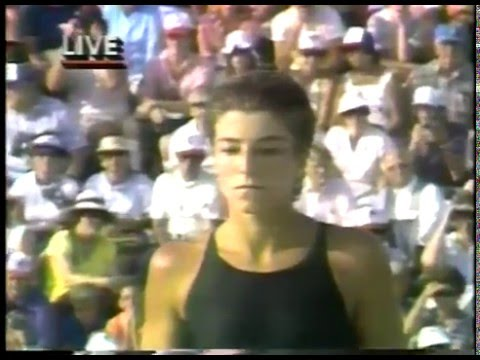 Olympics - 1984 Los Angeles - Womens Platform Diving Prelims & Highlights Of Chinese Athletes
