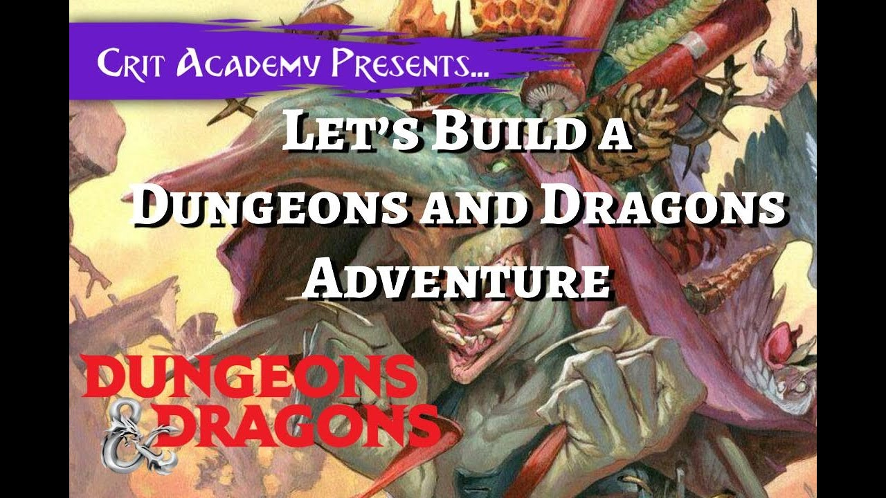 Let's Build a DnD Adventure