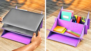 Useful And Cheap Cardboard Ideas    Home Decor Crafts
