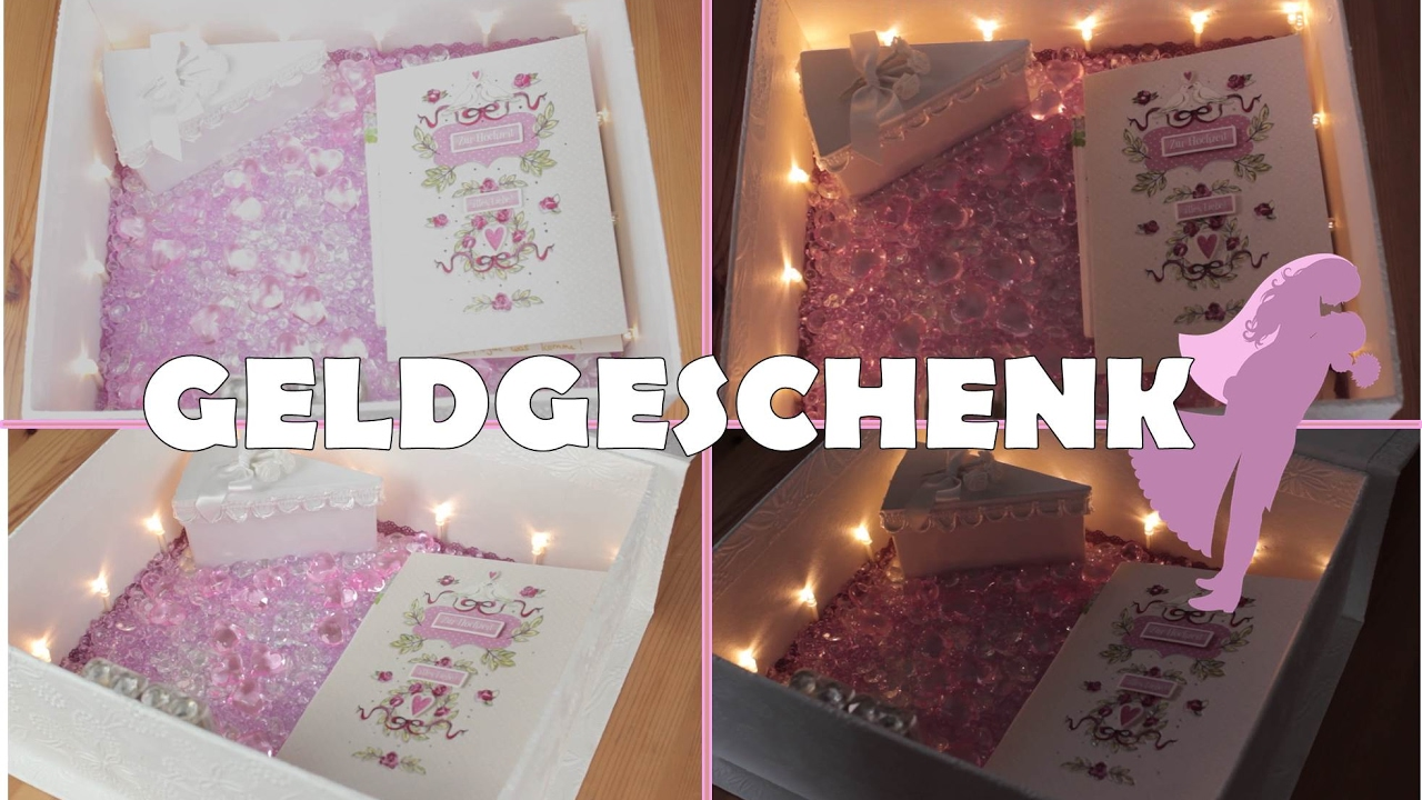 diy geschenk f r beste freundin hochzeit geldgeschenk diy geburtstagsgeschenk youtube. Black Bedroom Furniture Sets. Home Design Ideas