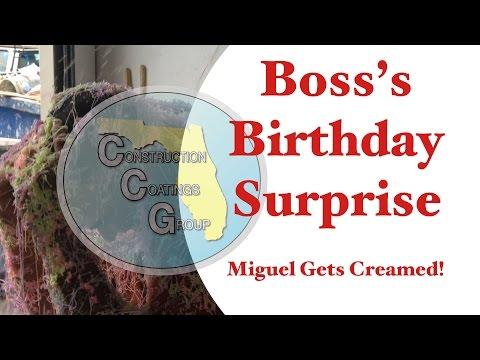 Boss's Birthday Surprise - CCG surprises Miguel on his birthday