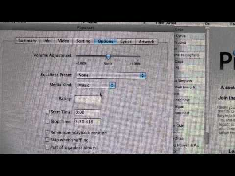 How to cut up a song using iTunes