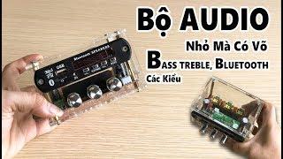 REVIEW Bộ Khuếch Đại AUDIO Đời Mới | Nhỏ Mà Có Võ | Có Bass treble Có Bluetooth | BLK 3