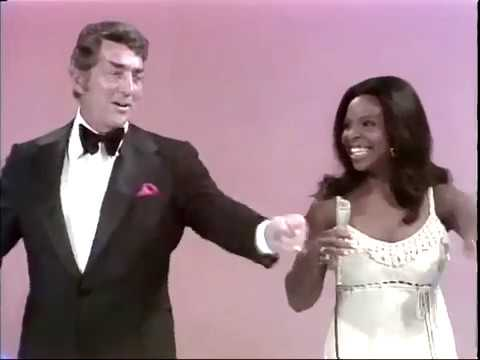 Midnight train to Georgia - Gladys knight and Pips live plus Dean Martin 1972