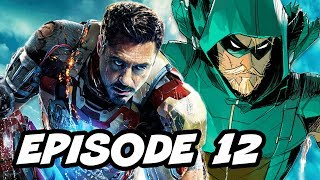 Arrow Season 5 Episode 12  - TOP 10 WTF and Comics Easter Eggs
