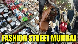 FASHION STREET Style, Mumbai Shopping | Best Market to buy Clothes, Shoes, Wallets | Street Shopping