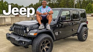 BUYING MY DREAM CAR!!! JEEP WRANGLER UNLIMITED SPORT!!!