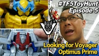 Looking for Voyager Optimus Prime from Transformers TLK - [TF5 Toy Hunt Ep. 5]