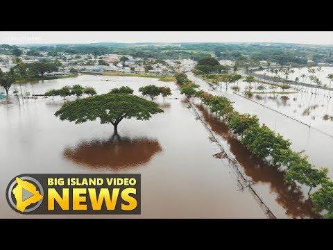 Hawaii Island Flooding Update - Noon Saturday (Aug. 25, 2018)