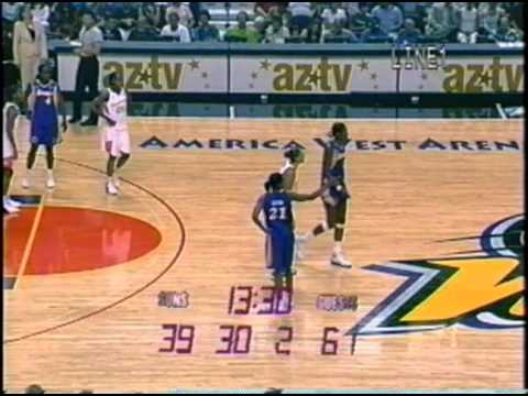 Classic WNBA: Los Angeles Sparks vs. Phoenix Mercury (June 18th, 2004)