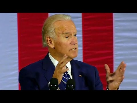 Vice President Joe Biden campaigns for Hillary Clinton in Pennsylvania