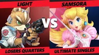 Smash at the Paramount SSBU - eU   Samsora (Peach) Vs. R   Light (Fox) Smash Ultimate Tournament LQ