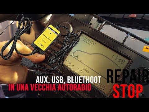 Aggiungere USB, AUX, BLUETOOTH ad una VECCHIA AUTORADIO!