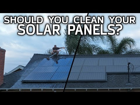 Should You Clean Your Solar Panels? Before/After Testing!