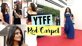 Walked the Red Carpet at YTFF 2017 | #DhwanisDiary