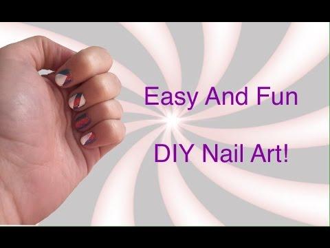 DIY Funky Nails!