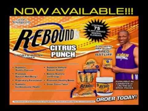 Rebound Energy and Sports Drink for Kids and Adults Multivitamins 98% absorbtions