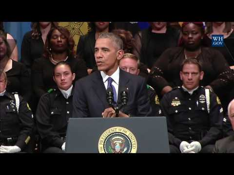 President Obama Speaks at an Interfaith Memorial Service