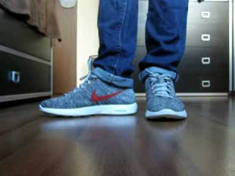 Nike Flyknit Chukka On Feet