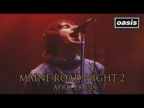 Oasis - Maine Road 1996 (Second Night) [HD] (Full Concert w/SBD Audio)
