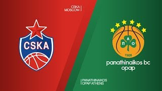 cska moscow panathinaikos opap athens highlights turkish airlines euroleague rs round 26