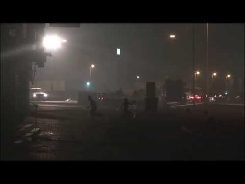 Bahrain : Riot Police Excessive force By Firing 56mm French Tear Gases Heavily At People