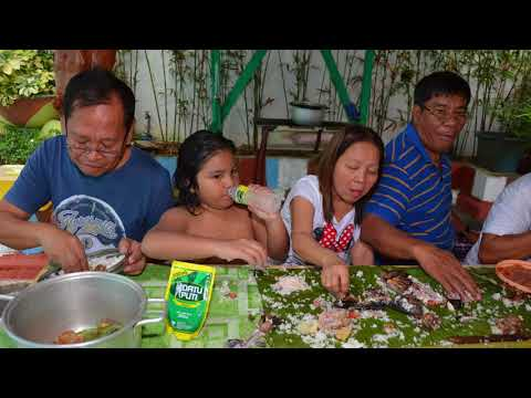 Boodle Fight At Pansol Laguna