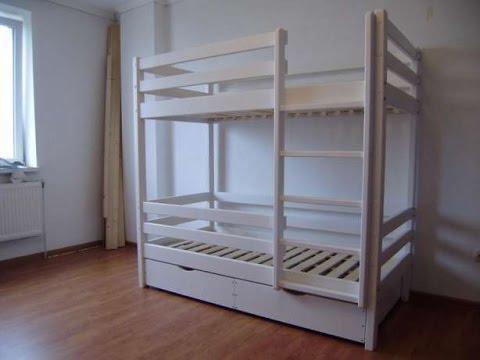 Инструкция по сборке двухъярусной кровати