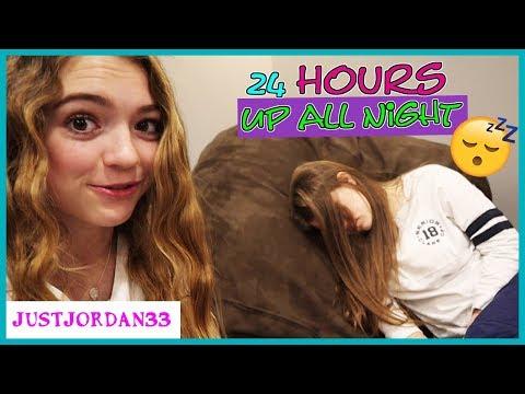 Jordan And Audrey 24 Hour All Nighter Party / JustJordan33
