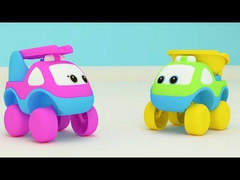 Би-Би Знайки – Буква Ё -  мультфильм про машинки – учим алфавит
