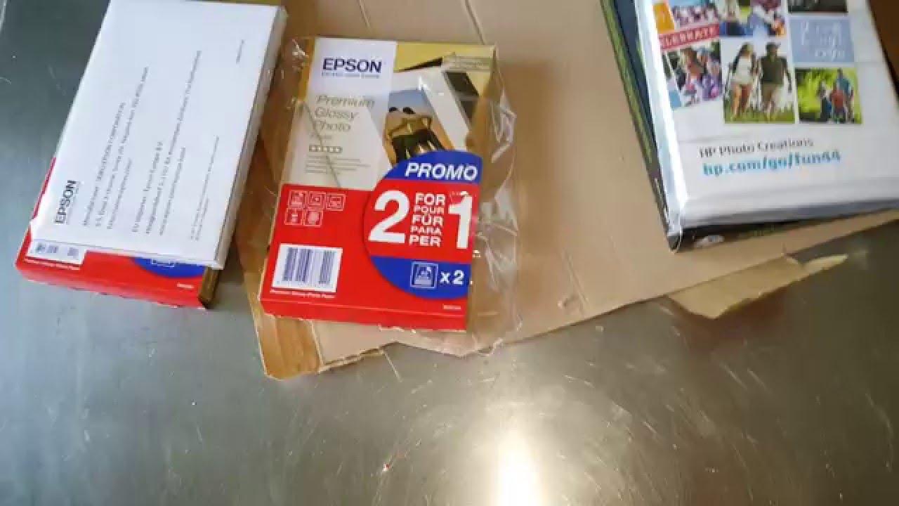 Epson carta fotografica professionale 10 x 15 hp youtube for Carta fotografica epson