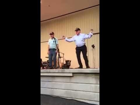 Dancing Gentlemen at the Blue Ridge Music Center