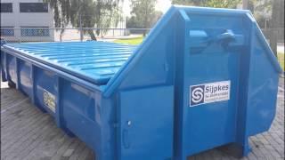 12m3 slibcontainer Sijpkes