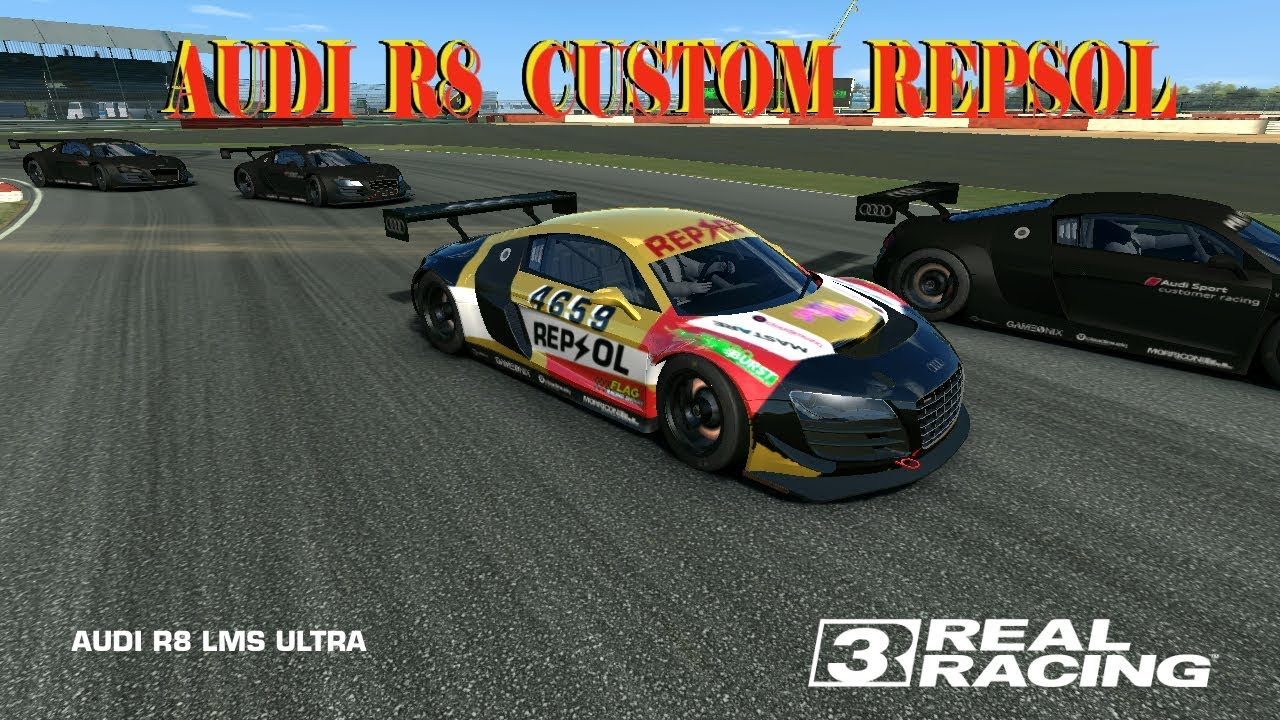 Real racing 3 how to make a custom vinyl repsol