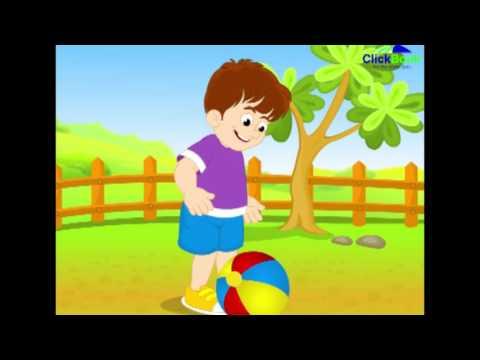 Bounce the ball - Nursery Rhyme for Children