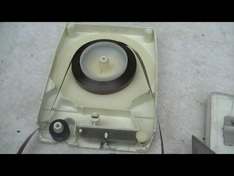 portable 8 track player and tape repair