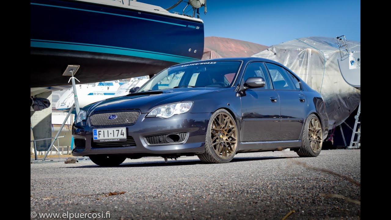 waxing subaru legacy spec b with supercharger 422hp 520nm ...