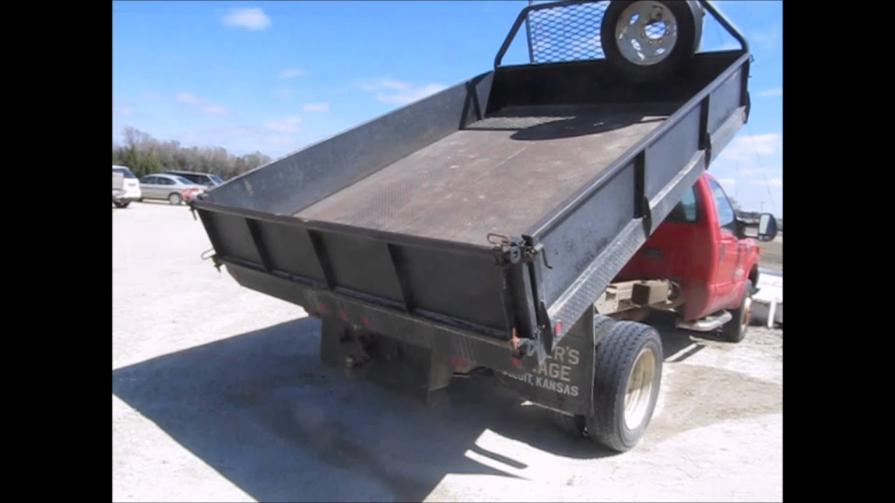 Truck Beds For Sale >> 2004 Ford F550 dump bed truck for sale | sold at auction ...