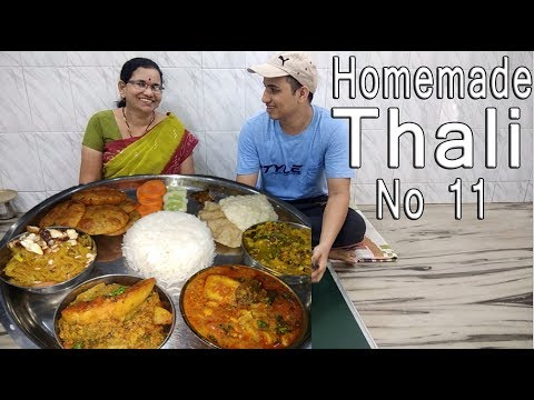 Special Rice Plate Recipe No 11   Food Thali   Lunch/Dinner Recipe   Konkani Style Cooking