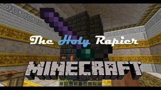 Minecraft | Tinkers' Construct OP Weapon: The Holy Rapier