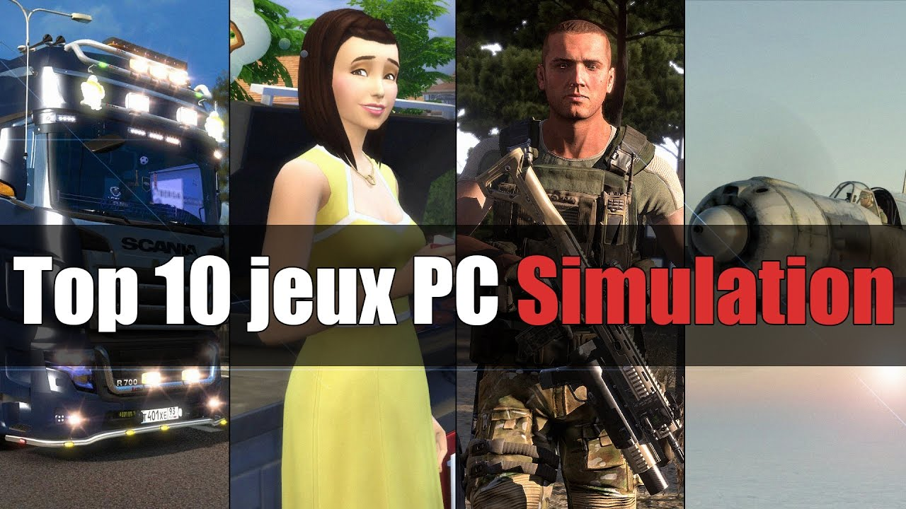 top 10 des jeux pc de simulation youtube. Black Bedroom Furniture Sets. Home Design Ideas