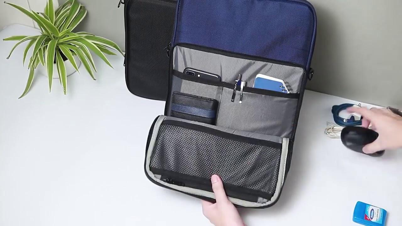 Túi chống sốc Laptop canvas
