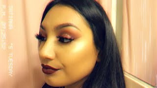 Valentines Makeup Look -Tatiana Guardado